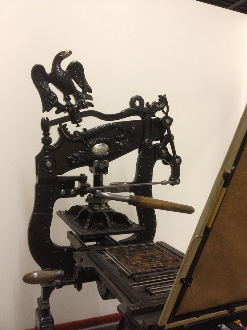 Printing press in uk